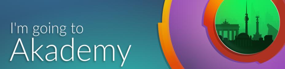 I'm going to Akademy 2016!